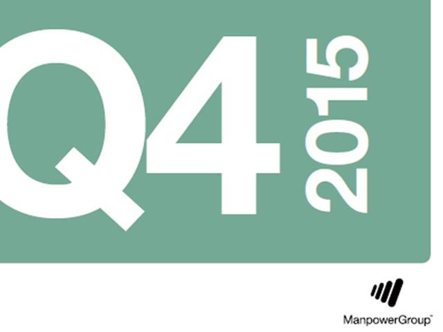 Q415 ManpowerGroup Employment Outlook Survey