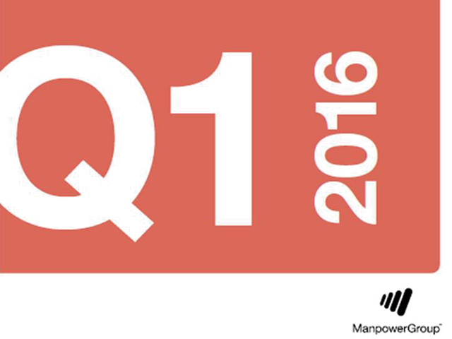 Q116 ManpowerGroup Employment Outlook Survey