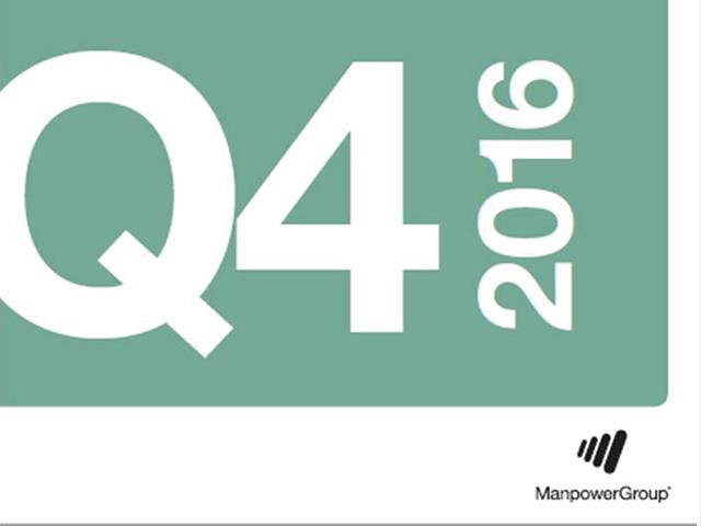 Q416  ManpowerGroup Employment Outlook Survey