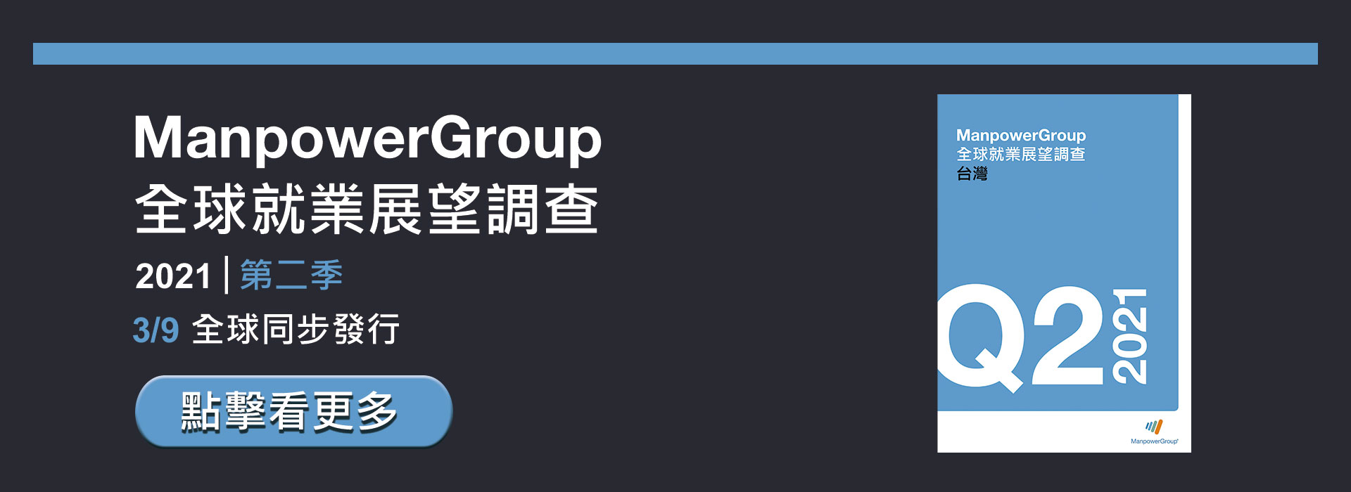 ManpowerGroup 2021 Q2 全球就業展望調查
